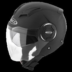 Kask motocyklowy ROCC 280 czarny mat