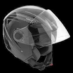 Kask motocyklowy ROCC 231 czarno-szary