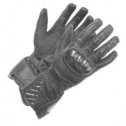 Rękawice motocyklowe damskie BUSE Misano czarne
