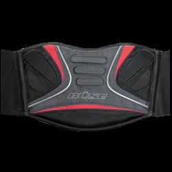 Pas nerkowy BUSE Curver czarno-czerwony
