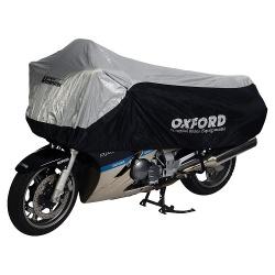 Pokrowiec na motocykl OXFORD UMBRATEX CV1 kolor srebrny, rozmiar L - wodoodporny