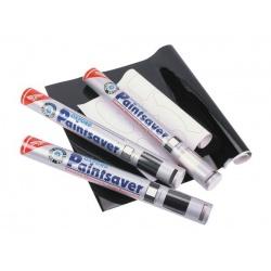 Naklejki naklejki do zabezpieczania części plastikowych do samodzielnego wycinania, kolor carbon (1 arkusz, karbon)