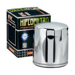HIFLO FILTR OLEJU HF 174C HARLEY-DAVIDSON V-ROD (CHROMOWANY) (50)