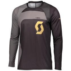SCOTT 450 Podium Jersey BLACK/GOLD