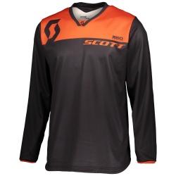 SCOTT 350 Dirt Jersey black/orange