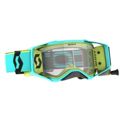 SCOTT Prospect WFS Goggle teal blue/yellow / clear works