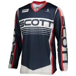 SCOTT 350 Race Jersey BLUE/RED