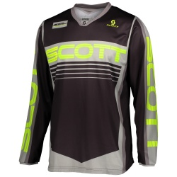SCOTT 350 Race Jersey  GREY/YELLOW