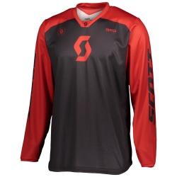 SCOTT 350 Track Jersey BLACK/RED