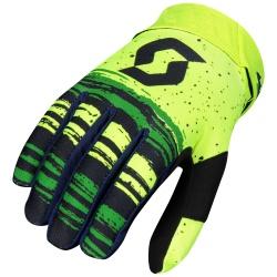 SCOTT 450 Noise Glove BLUE/YELLOW