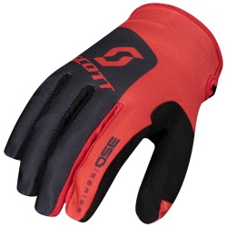 SCOTT 350 Track Glove  BLACK/RED