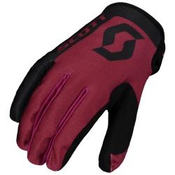 SCOTT 350 Race Glove black/maroon