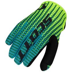 SCOTT 350 Fury Glove green/yellow