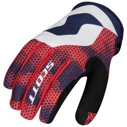 SCOTT 350 Fury Glove blue/red