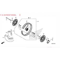Honda CRF1100 Africa Twin 2020-2021 felga przód